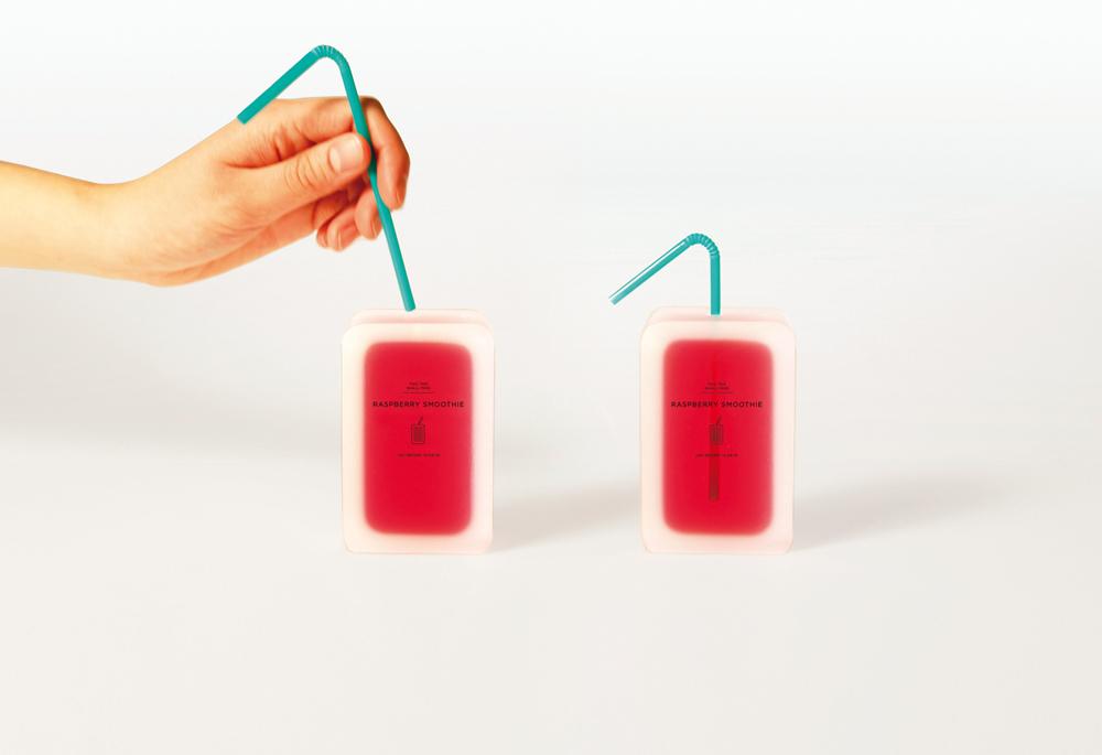 Envase de smoothie 100% biodegradable