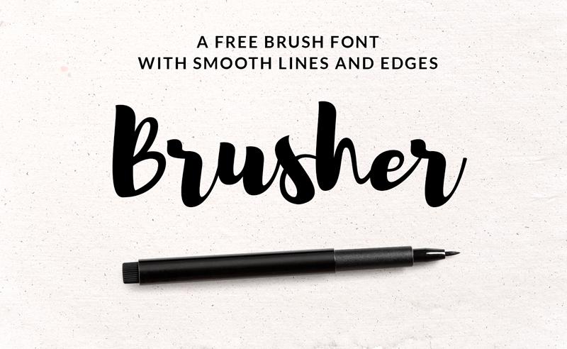 Tipografía Brusher de Vlad Cristea & Raul Taciu