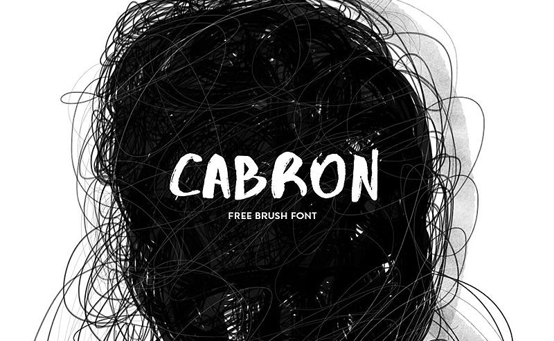 Tipografía Cabron, de Diego Cabrera
