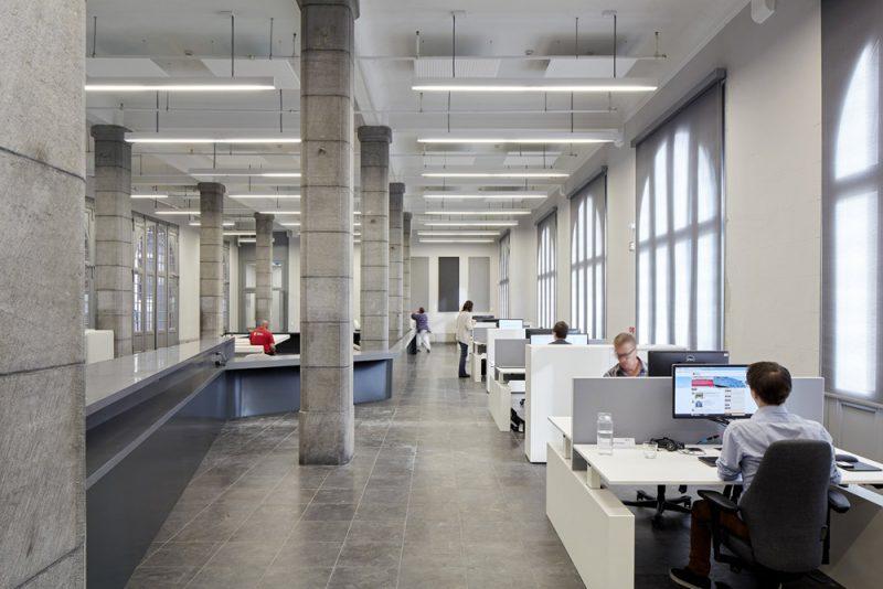Nuevas oficinas portuarias de Amberes.
