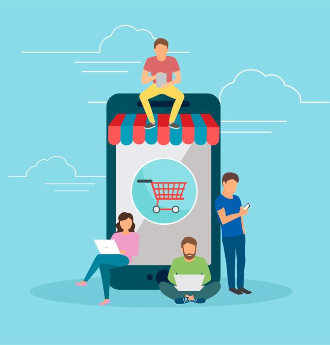 El auge del e-commerce.