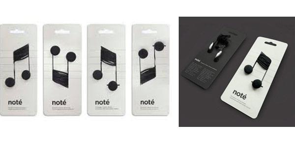Audífonos Noté, Fuente y diseño Corinne Pant.