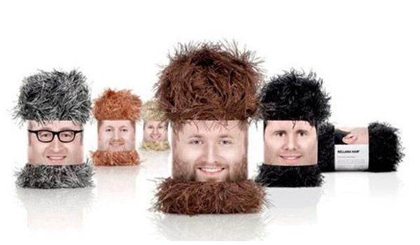 Packaging de lana.