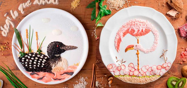 El arte de ilustrar con comida, de Anna Keville Joyce