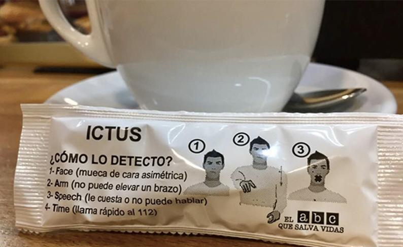 Azucarillo y café