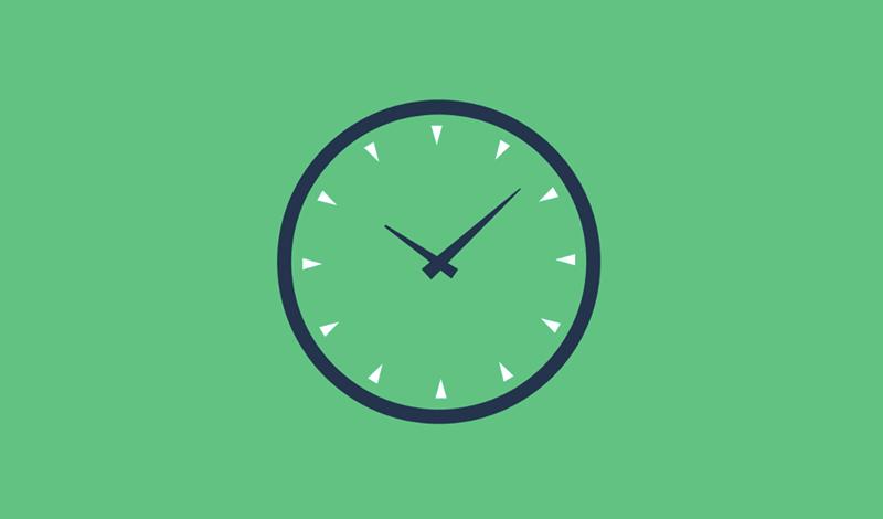 Clock timing