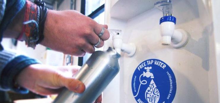 ¡Agua gratis para todo el mundo!