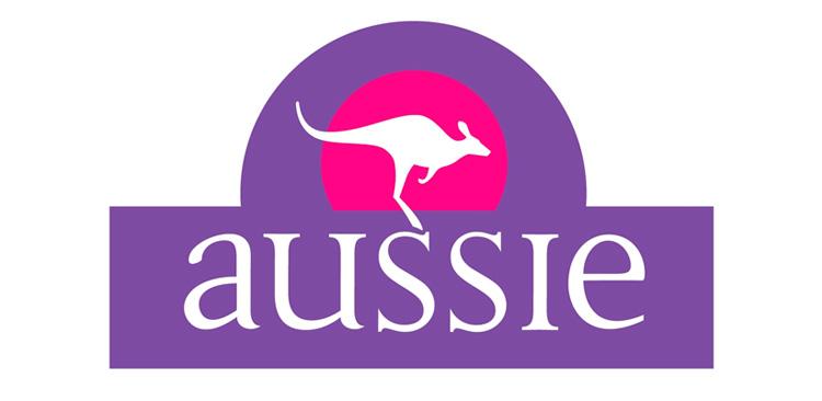 Aussie, morado. Color de identidad corporativa