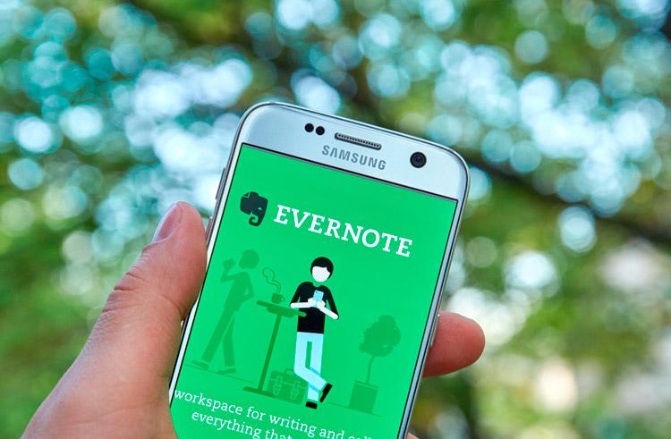Aplicación Evernote