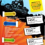 "I Concentración Motera en Picos de Europa ""Tritones"" #infografia"