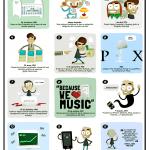 Pequeña historia de un gran genio (Steve Jobs) #infografia #apple