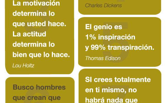 ¡¡¡ 10 frases motivadoras !!! #infografia #infographic
