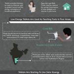 Cómo las Tablets pueden salvar el planeta #infografia #medioambiente