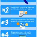 5 razones para tener un blog #infografia #infographic #socialmedia #blog