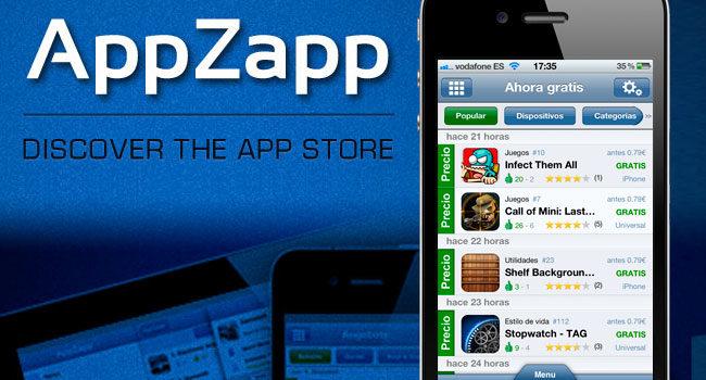 AppZapp: Aplicación para no perderte nada de lo último de la applestore #apple #apps