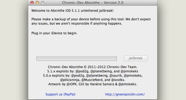 Jailbreak unthetered para iOS 5.1.1 ya disponible