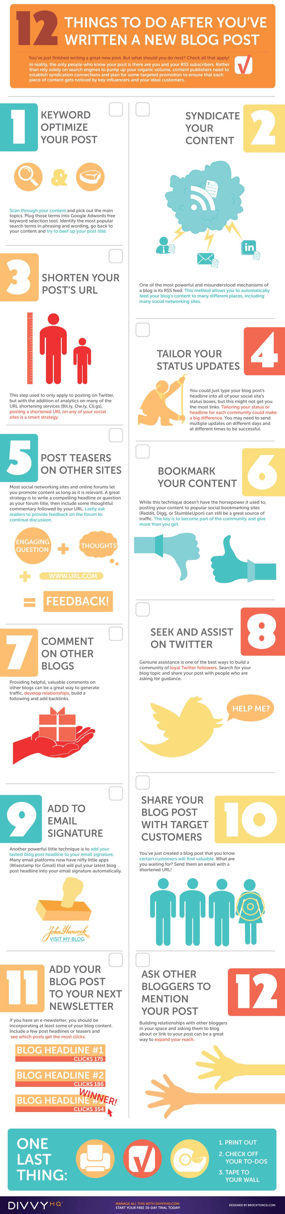 cómo promocionar los post