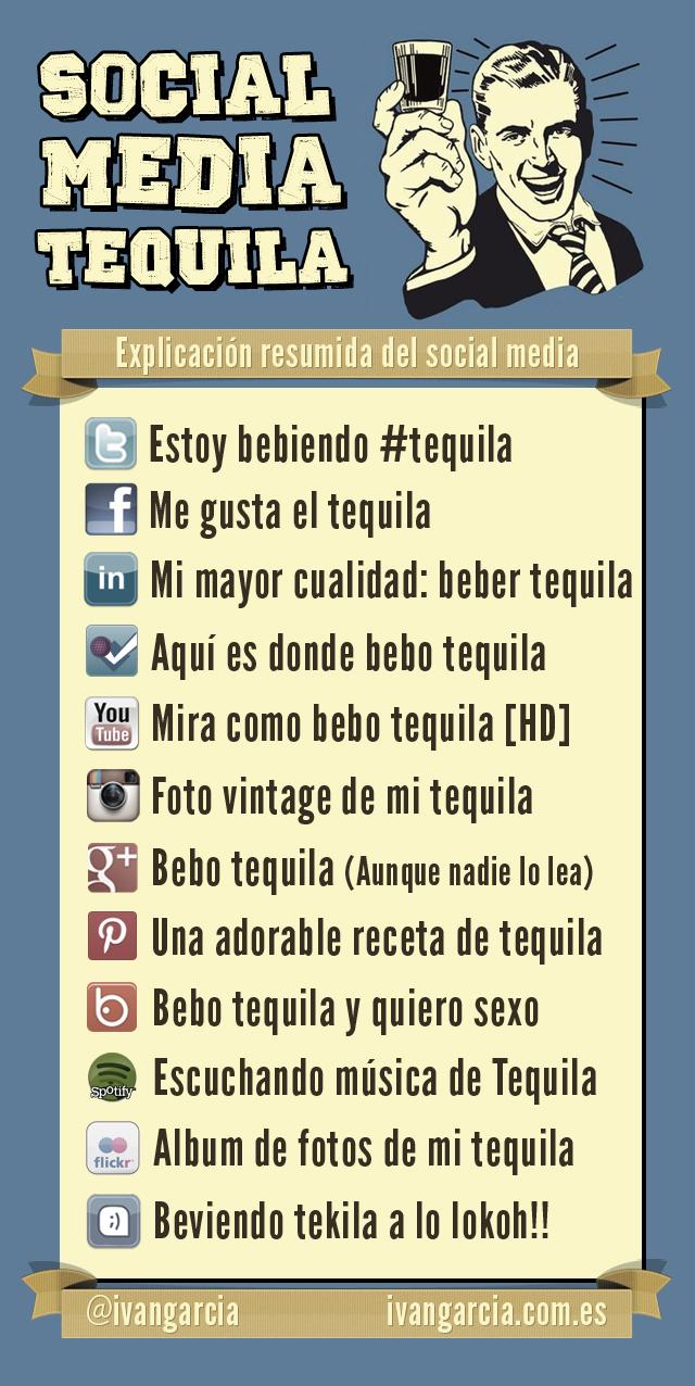 social media tequila