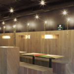 Yoobi Sushi in London #design #fotografia #fotographic #arquitectura #architecture