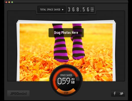 JPEGmini lanzado en la Mac App Store #app #diseño
