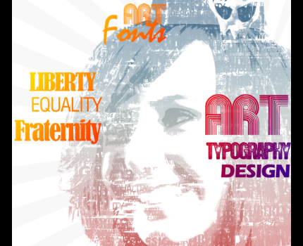 Creating a typographic design #diseño #tutorial #design