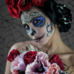 15 Examples of Dia de Los Muertos Make-up Art #design #fotografia