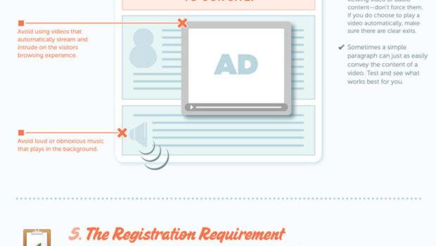 Consejos para que los usuarios no abandonen tu web. #infografia #infographic #tutorial