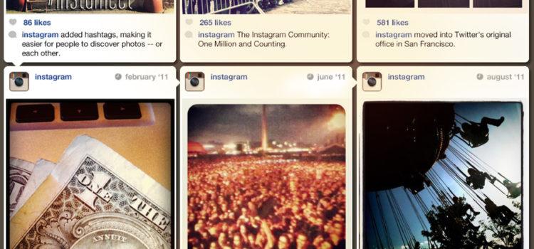 El timeline de Instagram, de cero al billón. #infografia #instagram