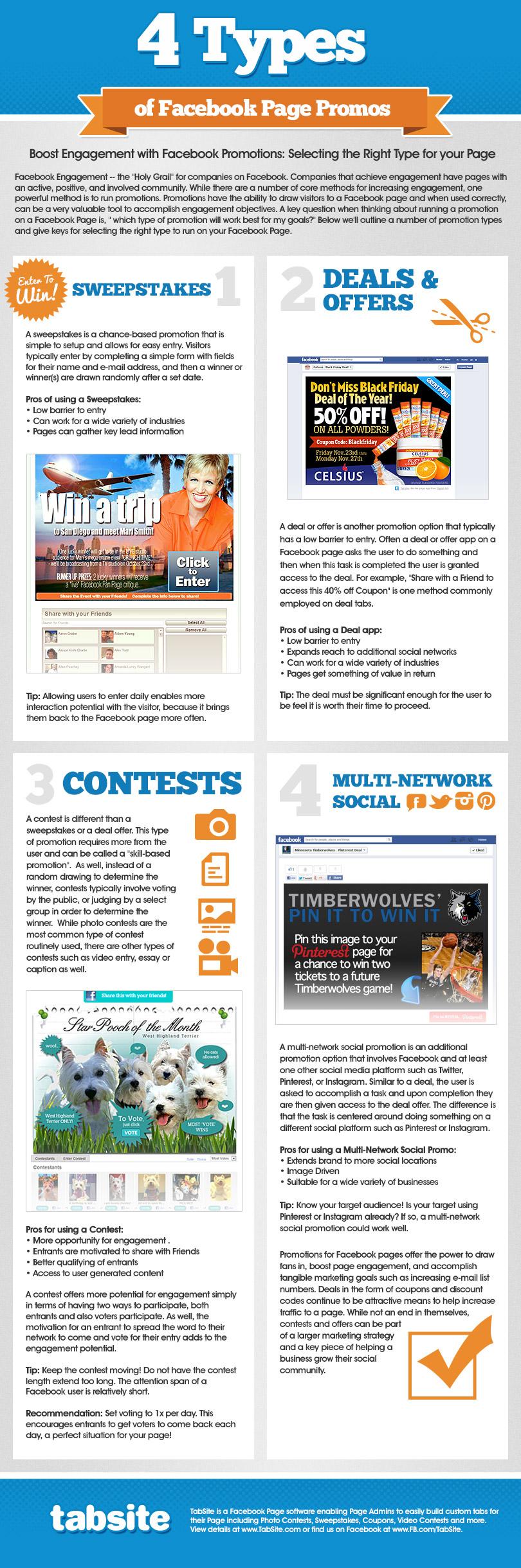 Concursos y promociones en Facebook