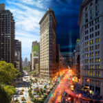New York Going From Dusk Till Dawn In Just One Picture #photography #fotografia #newyork