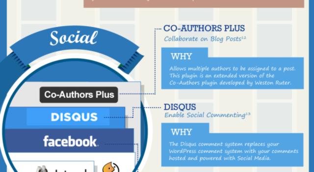 Los 21 mejores plugins para WordPress 2013 #infografia #wordpress #socialmedia