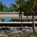 Casa diseñada por Marcio Kogan en Paraty, Brasil #arquitectura #design