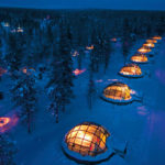 Glass Igloo Village in Finland #design #arquitectura #fotografia #architecture