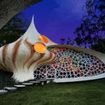Nautilus: Giant Seashell House #design #arquitectura #fotografia