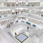 The New Stuttgart City Library in Germany #design #arquitectura