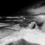 Temporal de olas en Zarautz #olas #fotografia #temporal