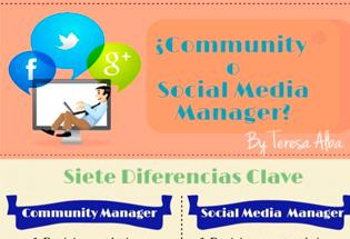 Diferencias entre Community y Social Media Manager.