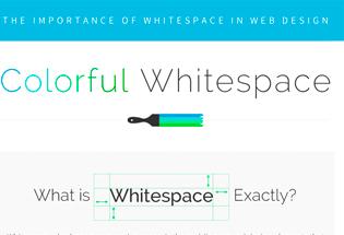 La importancia del espacio en blanco en el diseño web.