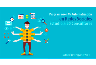Automatización vs programación en redes sociales.