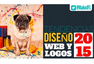 Tendencias en diseño web y logos para 2015.