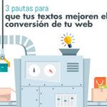 Pautas para mejorar el ratio de conversión de tu web.