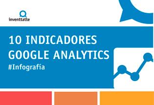 10 indicadores básicos de Google Analytics.