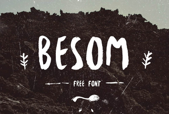 besom-free-font