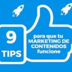 9 trucos para conseguir que vuestro Marketing de Contenidos funcione