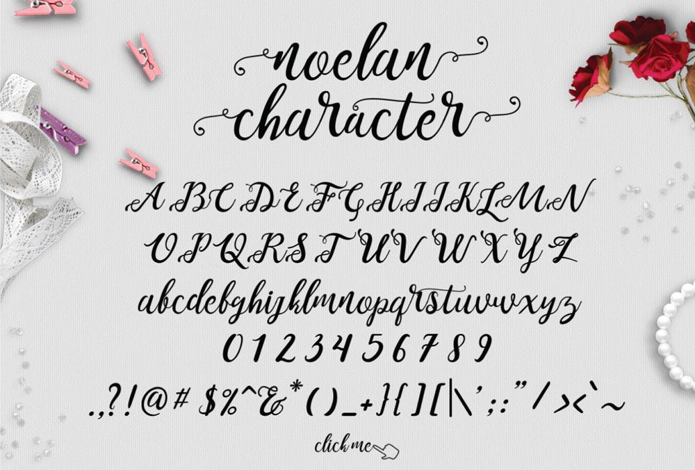 Noelan, de Pixel Surplus, 2016, fuente de descarga gratuita