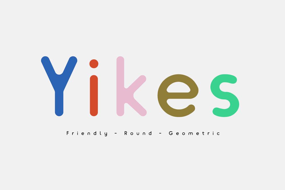 Yikes, de YOMAGICK, 2016, fuente de descarga gratuita