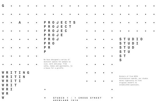 Glamuzina Architects, un sitio diseñado por Sons&Co.