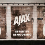 """La marca AJAX crea un anuncio """"pintando"""" en paredes sucias"""