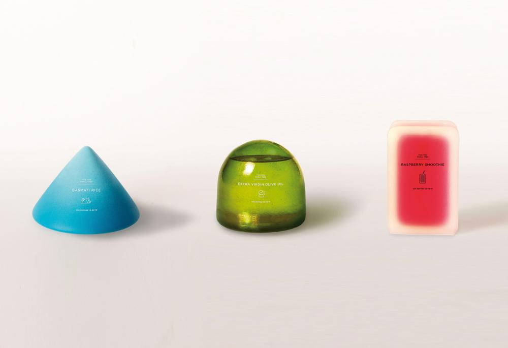 Tres tipos de envases 100% biodegradables