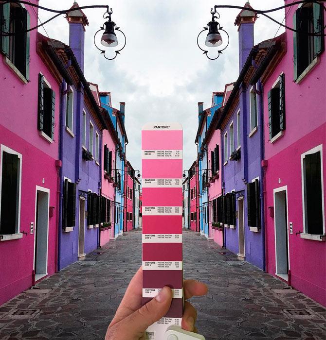 Explorar el mundo a través de los colores Pantone.